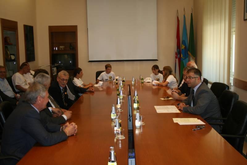 Sastanak u sjedištu Istarske županije