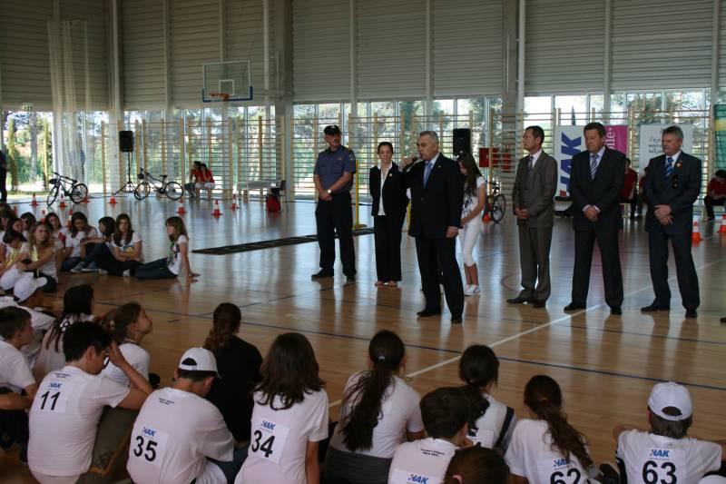 Predsjednik Bikić na otvaranju natjecanja