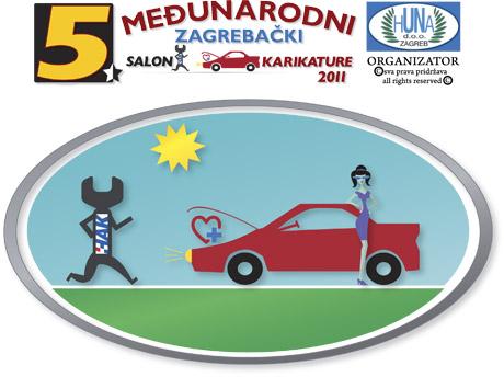 Peti međunarodni zagrebački salon autokarikature 2011.