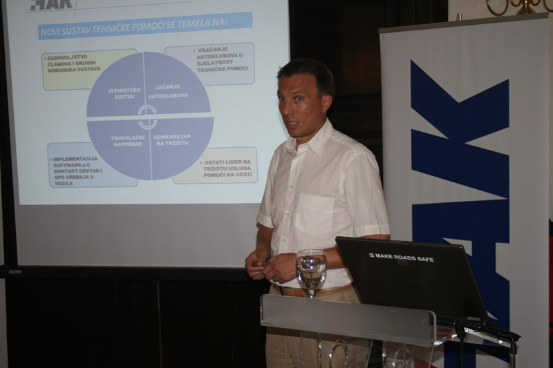 Mario Jurašić, rukovoditelj Sektora tehničke pomoći u HAK-u