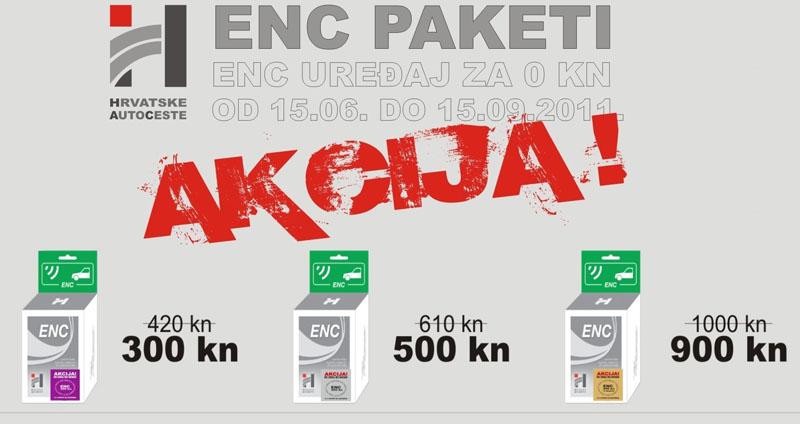 Ljetna akcija ENC paketa
