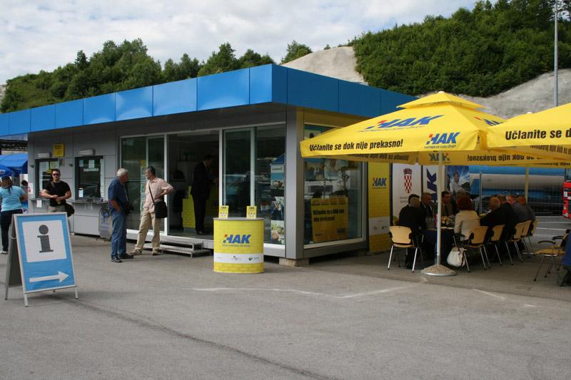 Novi objekt HAK-a na GP Macelj
