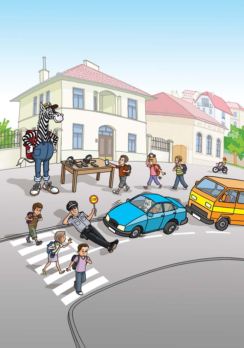 Vozite oprezno u blizini škola i na pješačkim prijelazima
