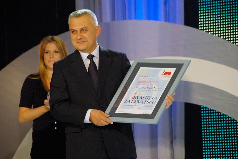 Dodjela nagrade - kamp Straško