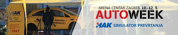 Arena Centar Auto Week, HAK-ov simulator prevrtanja