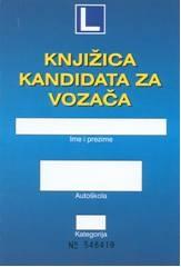 Knjižica kandidata za vozača